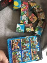Развивающие кубики с картинками из мультфильмов