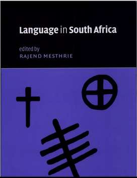 Textbook : Language in South Africa, Rajend Mesthrie