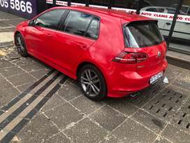 Golf7 2.0 TSI Rline 2015 model in a very good condition