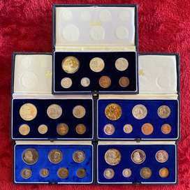 25 x RSA Proof Coin sets from 1965 to 1989