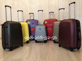 ЭКСКЛЮЗИВ чемодан пластиковый сумка на колёсах дорожная валіза