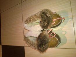 Cieple buty buciki paputki
