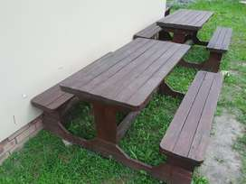 Out door park tables