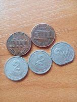 Продам монеты купоны рубли.