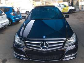 Mercedes Benz C250 auto Blue Efficiency