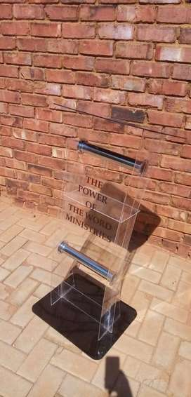 PODIUMS/ PULPITS/ LECTERNS AT COST PRICE
