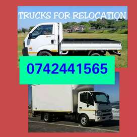 Removal TRUCKS for hire