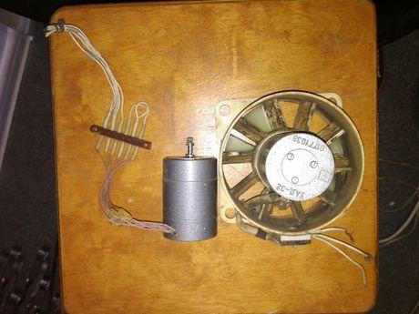 Электродвигатель УАД-32, осевой вентилятор