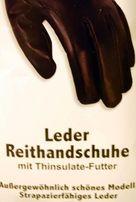 rękawiczki jeździeckie zimowe skóra + thinsulate