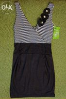 Новое летнее платье туника тельняшка ( 40-42)