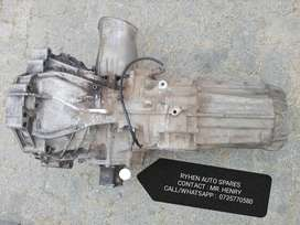 Audi A4 b8 6 speed manual gearbox for sale.