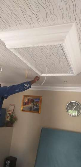 Ceiling installation and Painting