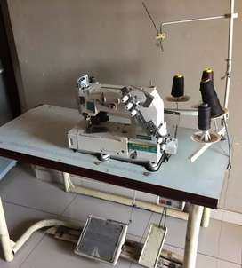 Imported multi needle indusrial sewing machine