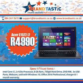 Lighting-fast Acer i7 Notebook @ R4990