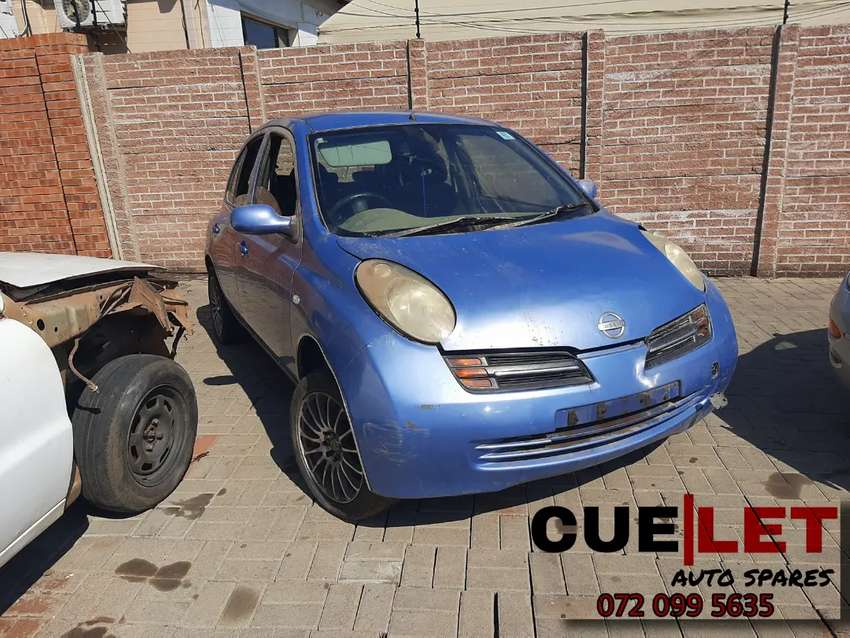 2006 NISSAN MICRA STRIPPING FOR SPARES