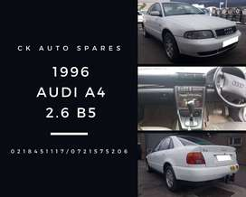 Audi A4 2.6 B5 1996 stripping for spares.