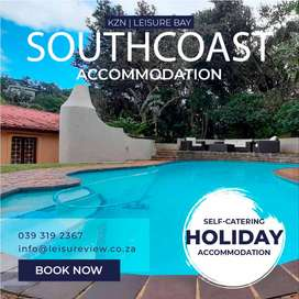 Beach Holiday House Accommodation from R1950 | LEISURE BAY / KZN