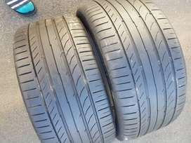 255/40/ R18 Continental ContiSportContact Run Flat Tyres