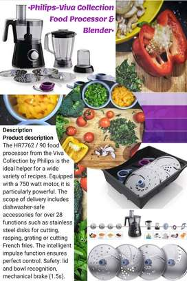 PHILIPS VIVA CUISEN COLLECTION FOOD PROCESSOR AND BLENDER SET