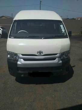 2015 Toyota Quantum D4D 16 seater in excellent condition