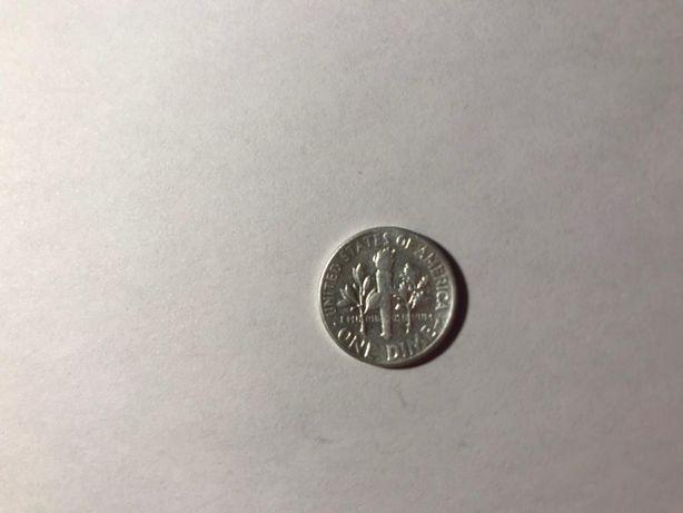 США 10 центов 1952 Рузвельт Киев - изображение 2