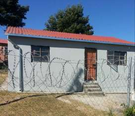 Butterworth, 4 room township house on a large stand