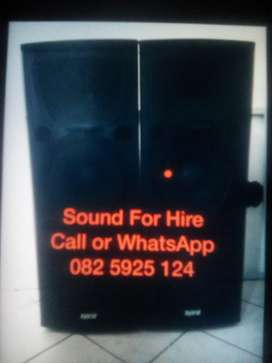 Witbank Sound For Hire