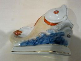 рыба статуэтка пепельница салфетница ароматница