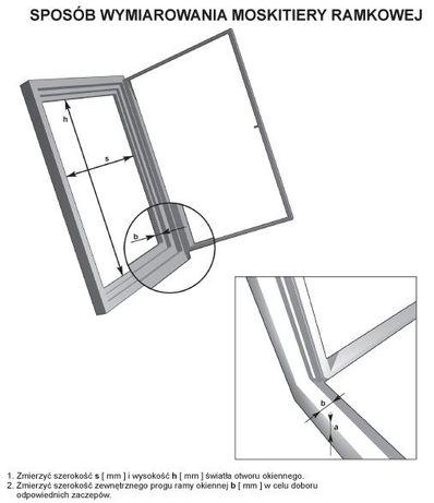 Moskitiery aluminiowe do okien przeciw owadom !!! Olkusz - image 5
