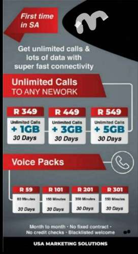 Unlimited calls to any network