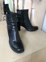 Шкіряні демісезонні черевики жіночі продам