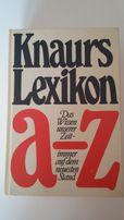 Knaurs Lexikon a-z, Leksykon po niemiecku