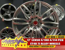 17inch Lenso 4-100 pcd Et40 Center all round R6500  A