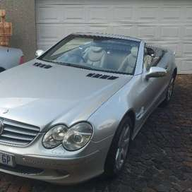 Mercedes Benz SL 500 Roadster