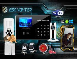 Wi-Fi & GSM сигнализация в дом + Морозоустойчивая для гаража!