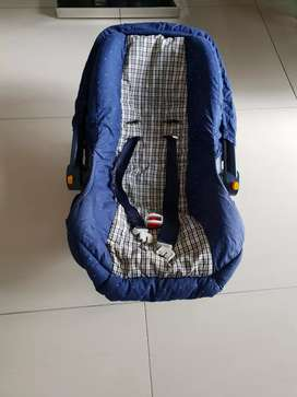 Car seat and carrier for both