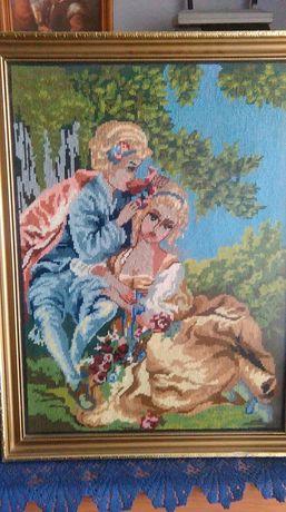 Sprzedam obraz wykonany ręcznie metodą szydełkowania Białystok - image 1