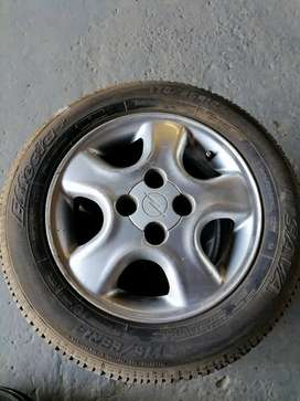 Opel mags with 13 inch tyres