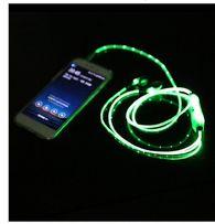 Светящиеся наушники аккумулятор,подзарядка,usb