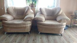 2 Duże wygodne fotele