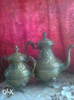 Чайник с сахарницей-19 век