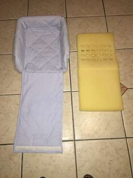 Baby car seat, Bed&Matress and Baby wedge all for R500