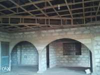 Image of 4 bedroom house for sale.its uncompleted