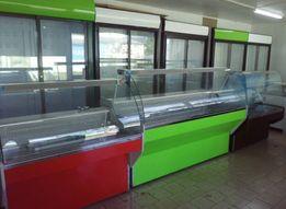 Холодильное торговое оборудование: витрины, шкафы, лари, охладители.