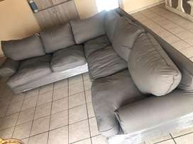 Coricraft L-shaped couch