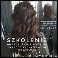Szkolenie Przedłużanie włosów Warkoczyki Syntetyczne Dreadloki