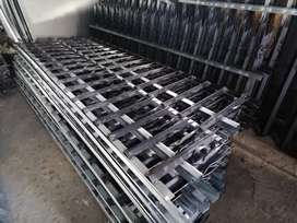 Supply all sizes palisades fence and Gate