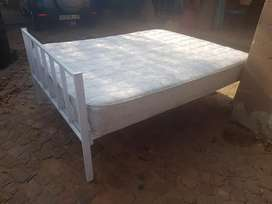 Steel bed for sale