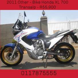 2011 Other - Bike Honda XL 700 Transalp - R55,900