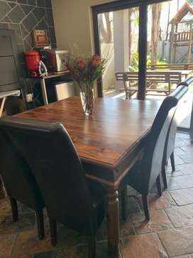 Jalang dining set, coffee table and console